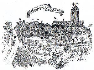 Rorgenwies im Jahre 1675